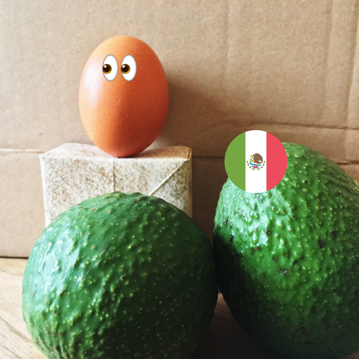 Humpty Dumpty an anvocados