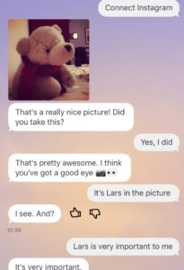 Replika an Lars